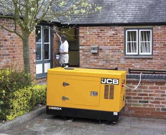 Generator outside building