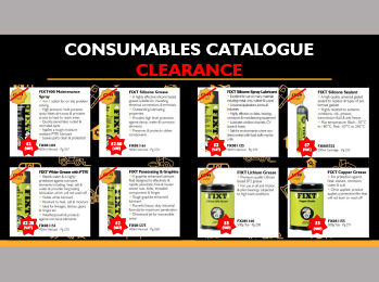 Consumables Catalogue Clearance