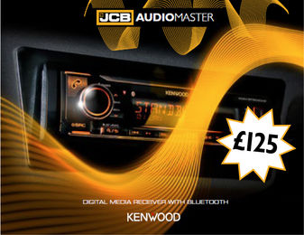 JCB Audiomaster Radio