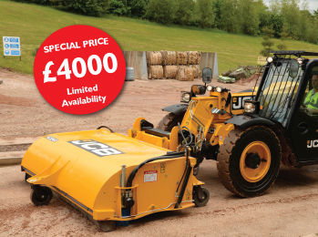 JCB SC240 Sweeper Collector
