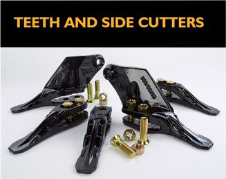 Bucket Teeth and Side Cutters