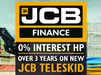 JCB Teleskid interest free over 3 years
