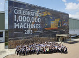 JCB Marks Millionth Machine Milestone In Colourful Style