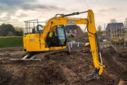 JCB LAUNCHES REDUCED SWING T4F EXCAVATOR WITH NO ADBLUE