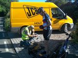 Holt JCB service supports Help for Heroes Cyclists
