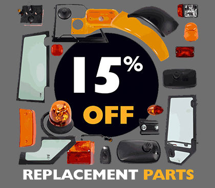 15% OFF REPLACEMENT PARTS FOR ONE WEEK ONLY!
