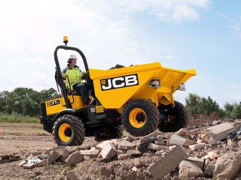 JCB to launch NEW RANGE of site dumpers