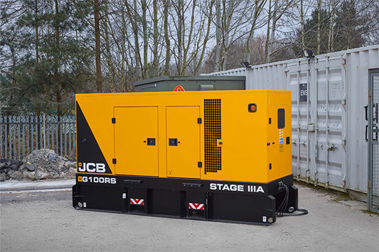 AWARD WINNING JCB ENGINE POWERS NEW RS RENTAL GENERATORS