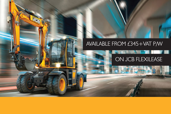 JCB Hydradig available from £345+vat per week