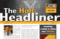 HOLT HEADLINER: FEBRUARY 2018