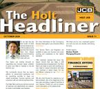 HOLT HEADLINER: OCTOBER 2020